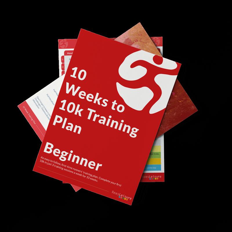 10 weeks training plan image