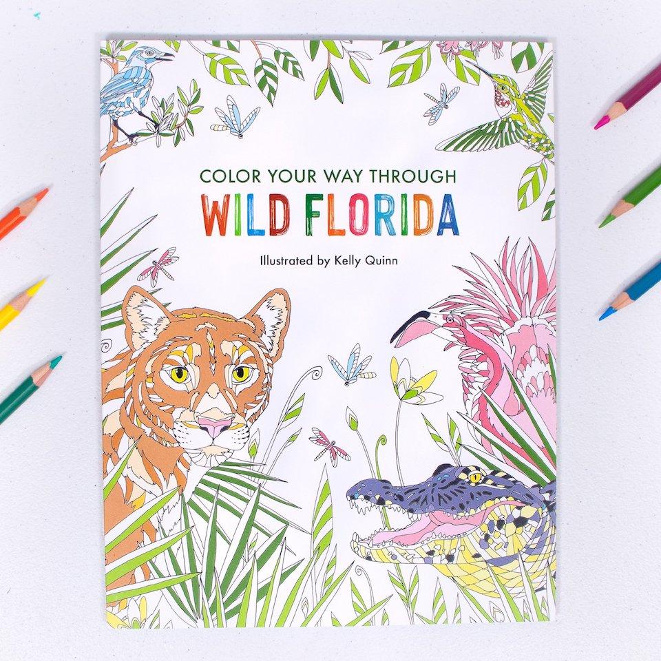 Color Your Way Through Wild Florida