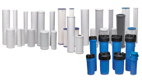 Point-of-use and Whole-home Water filters