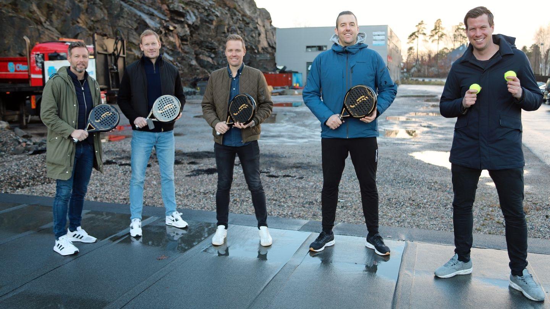 Etablerer padel-kjede i hele Norge
