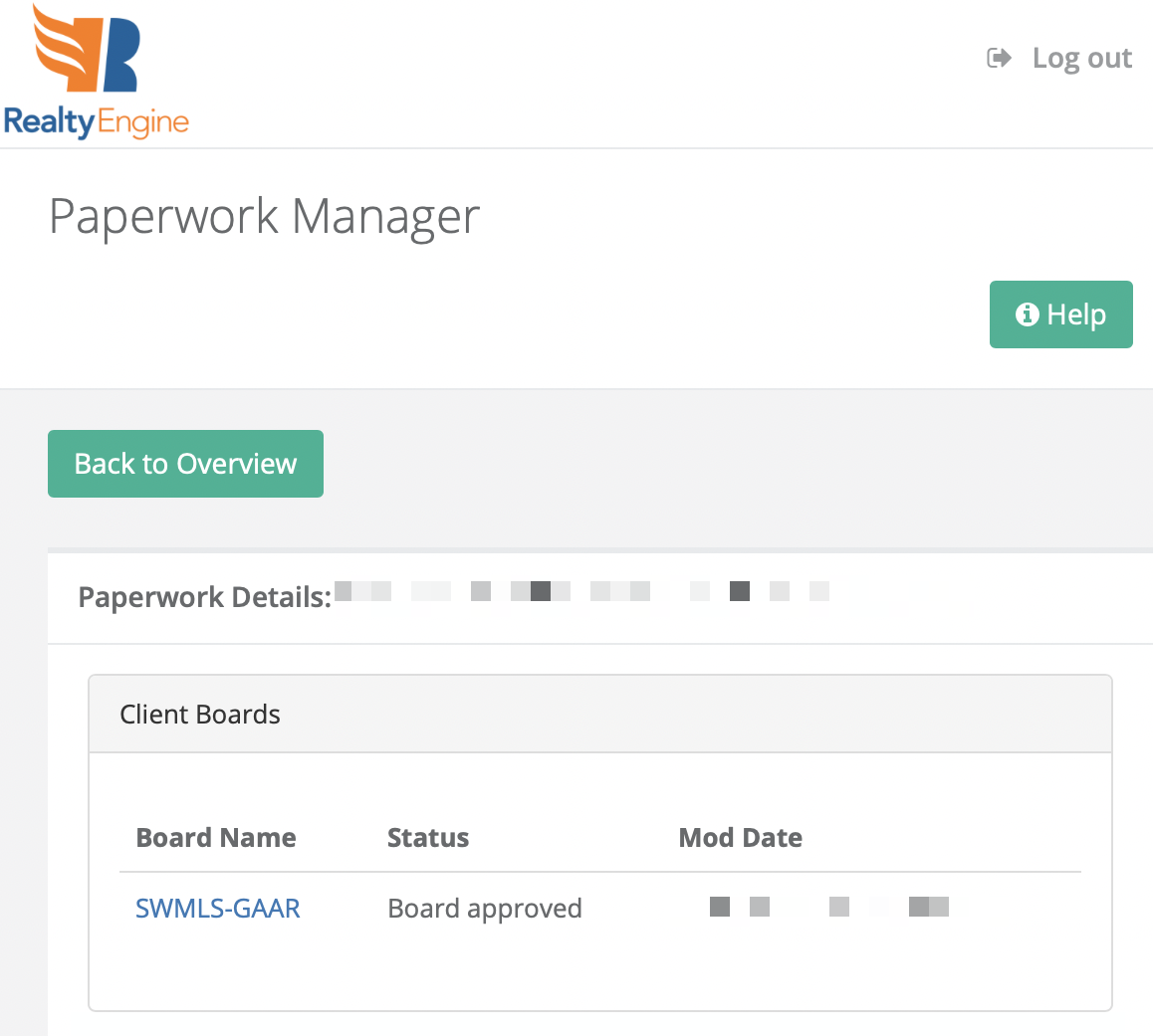 IDX Paperwork Manager by RealtyEngine