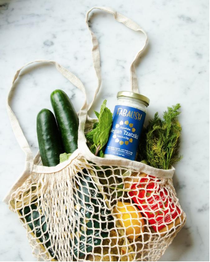 Bag full of Healthy foods