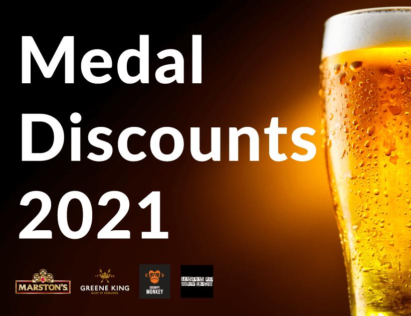 Medal Discounts 2021 thumbnail image