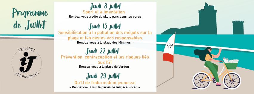 IJ Roule Tour : Prévention, contraception ....