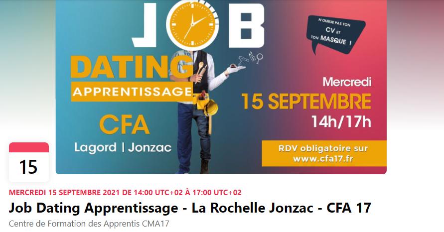 Job Dating Apprentissage du CFA17