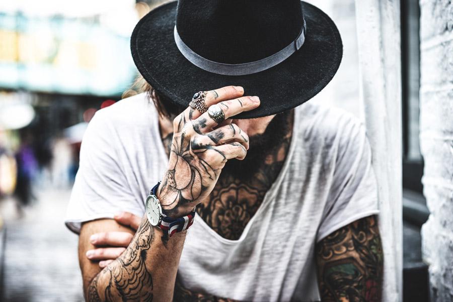 Man in Black Hat