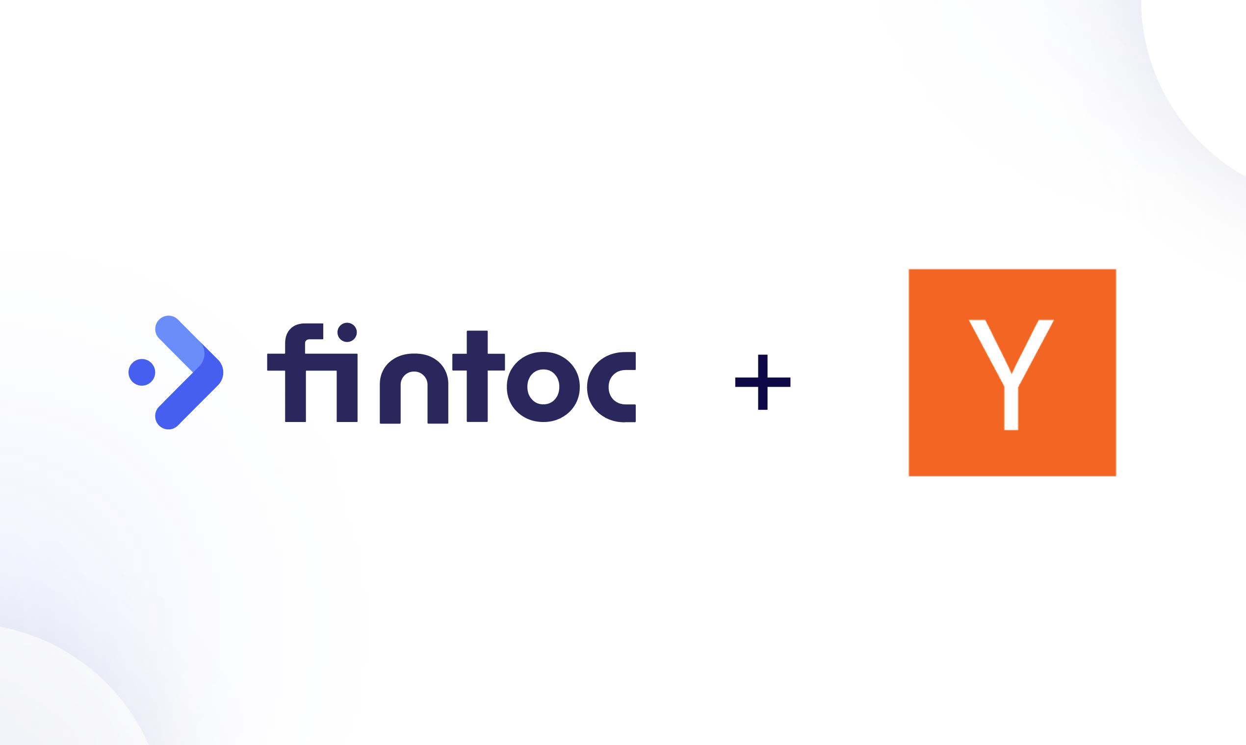 Fintoc es una empresa Y Combinator 🎉