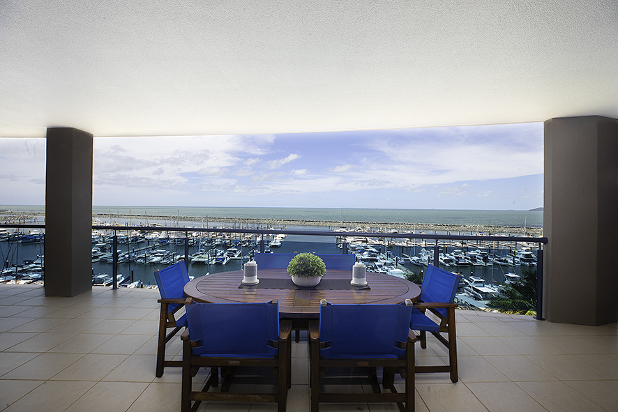 Unobstructed Views Over the Marina