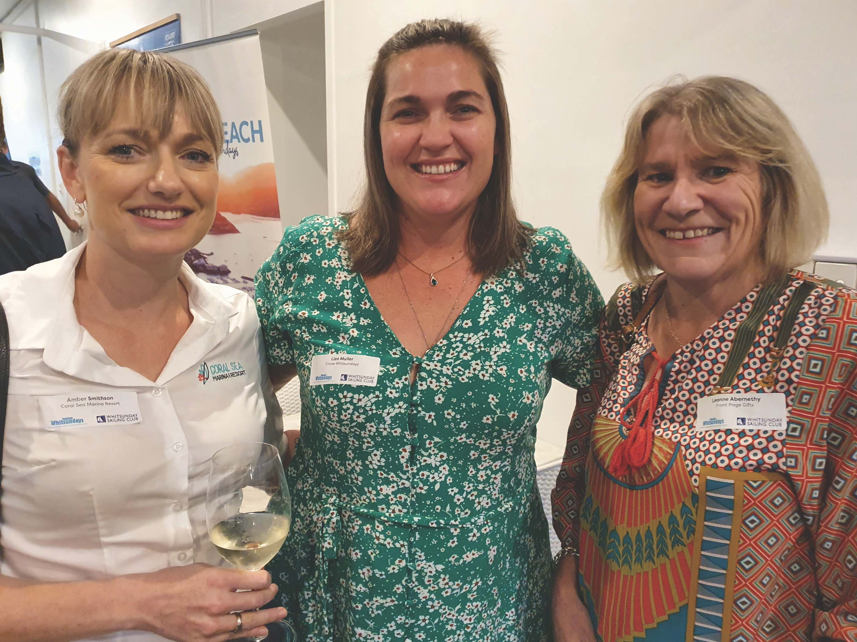 Amber Smithson, Liza Muller and Leanne Abernethy