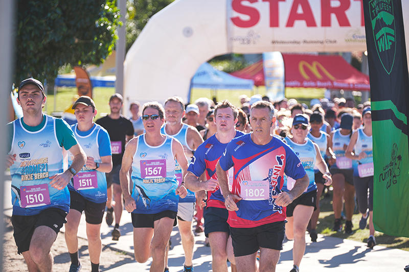 Runners Race Annual Airlie Marathon To Great Success