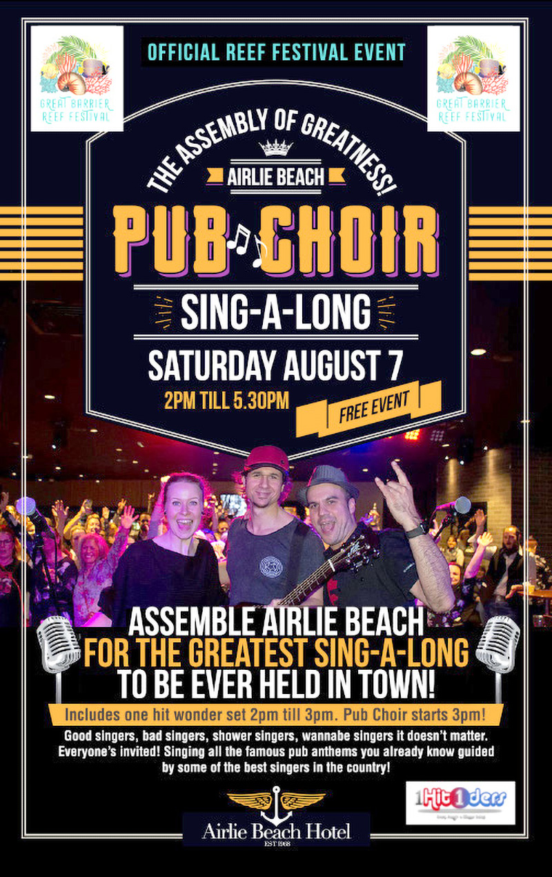 Get Your Song On At The Reef Festival's Pub Choir
