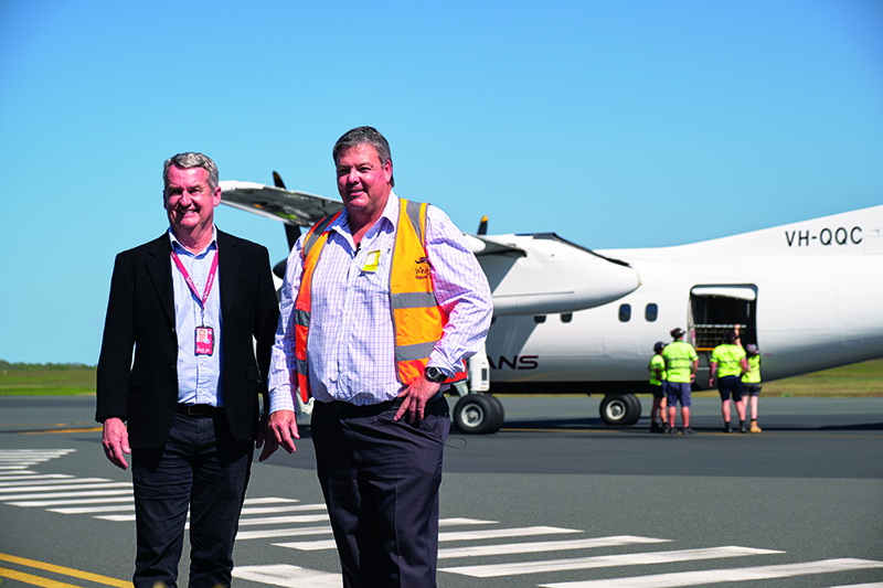 First Flight From The North Arrives In Whitsundays