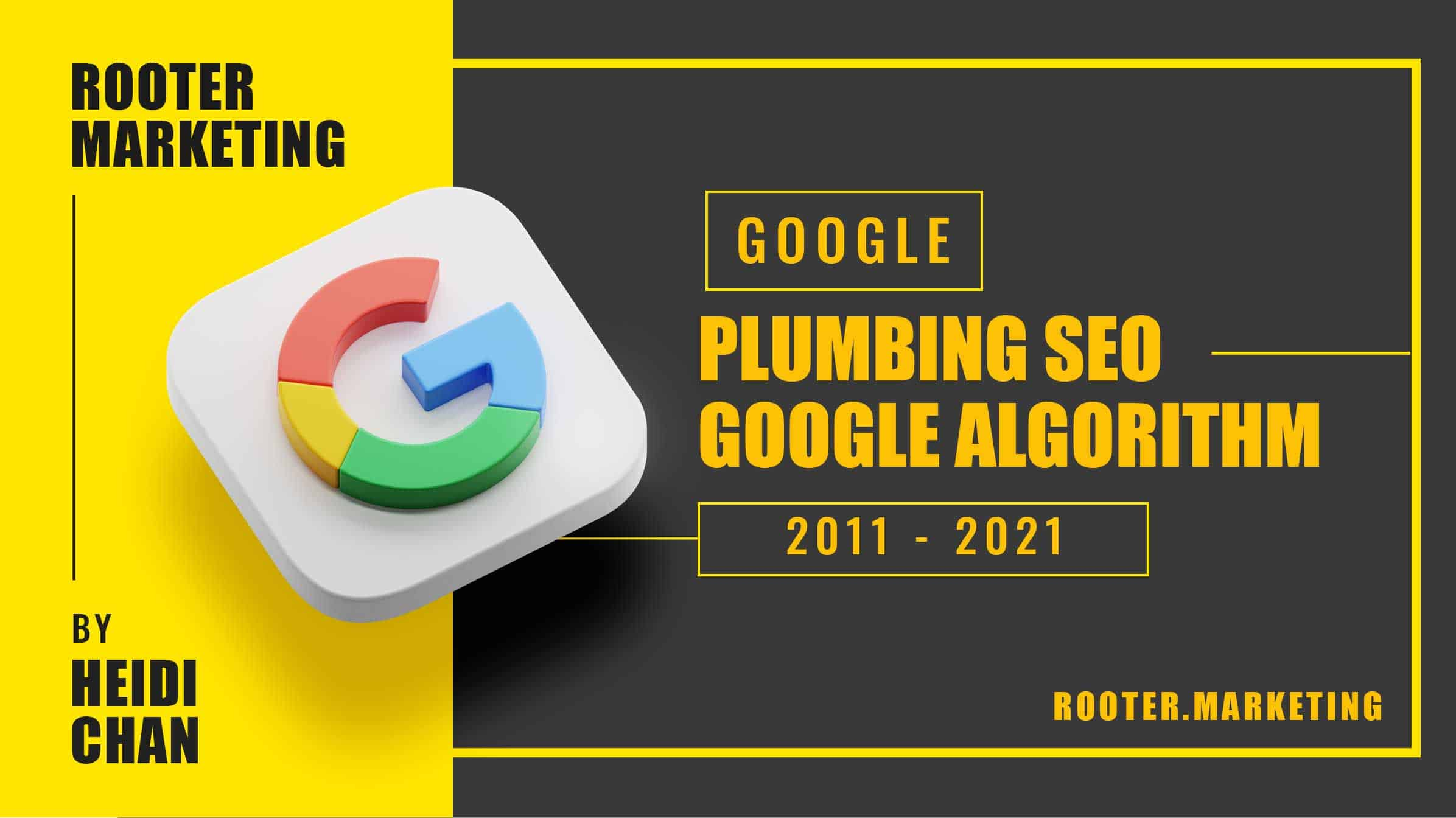 Knowing when major Google updates happen can help you improve your plumbing SEO strategy. Staying up to date on Google's SEO updates is a priority.