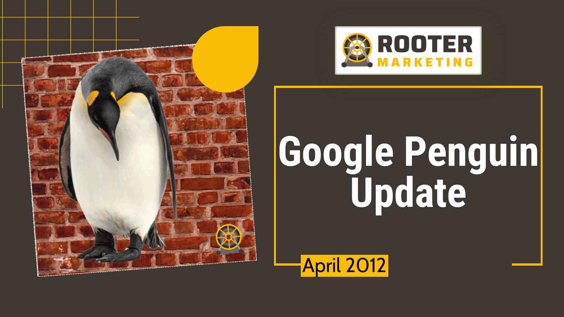 Google SEO Penguin Update Rooter Marketing Plumbing SEO