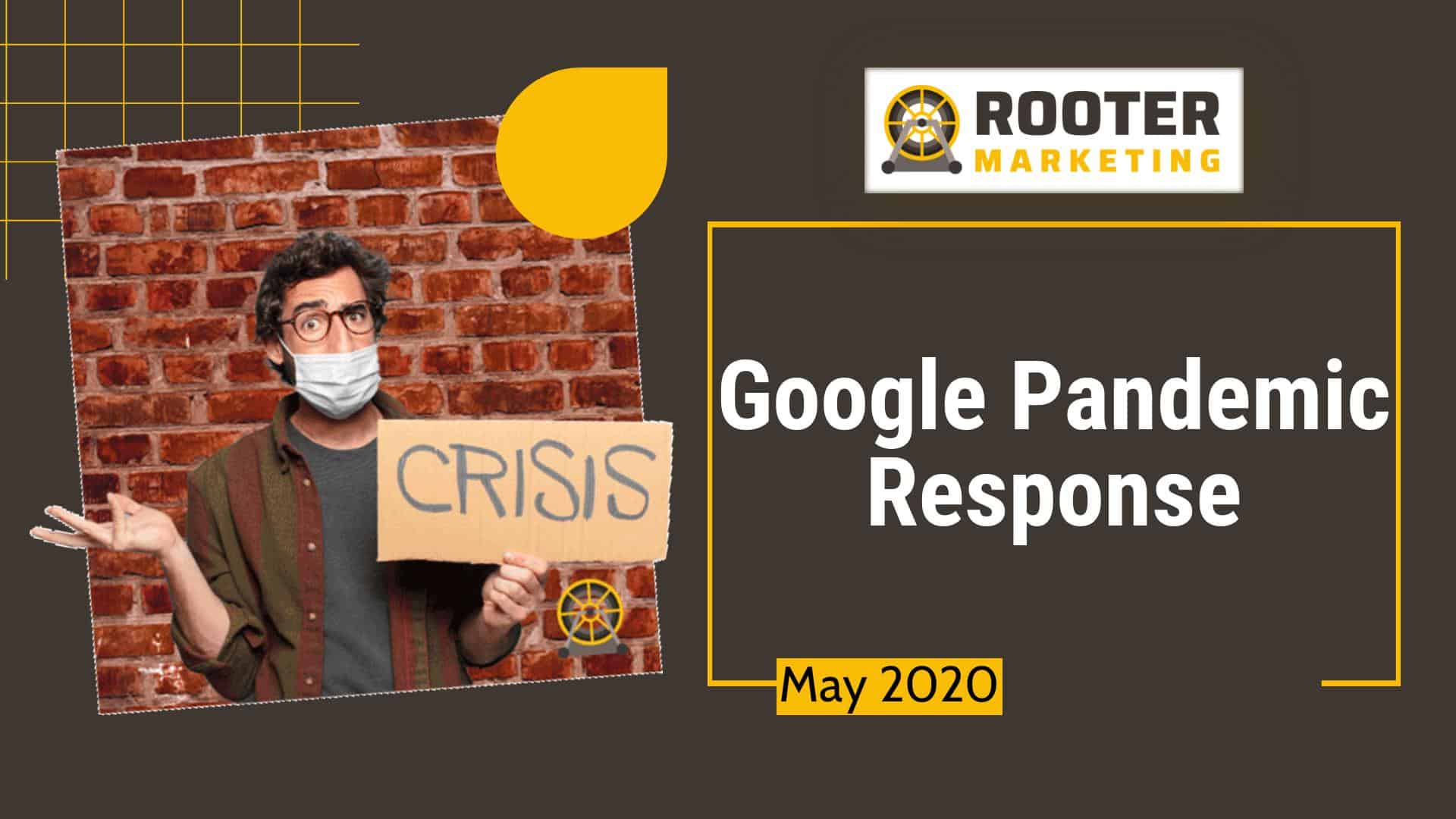 Google SEO Pandemic Response Update Rooter Marketing Plumbing SEO