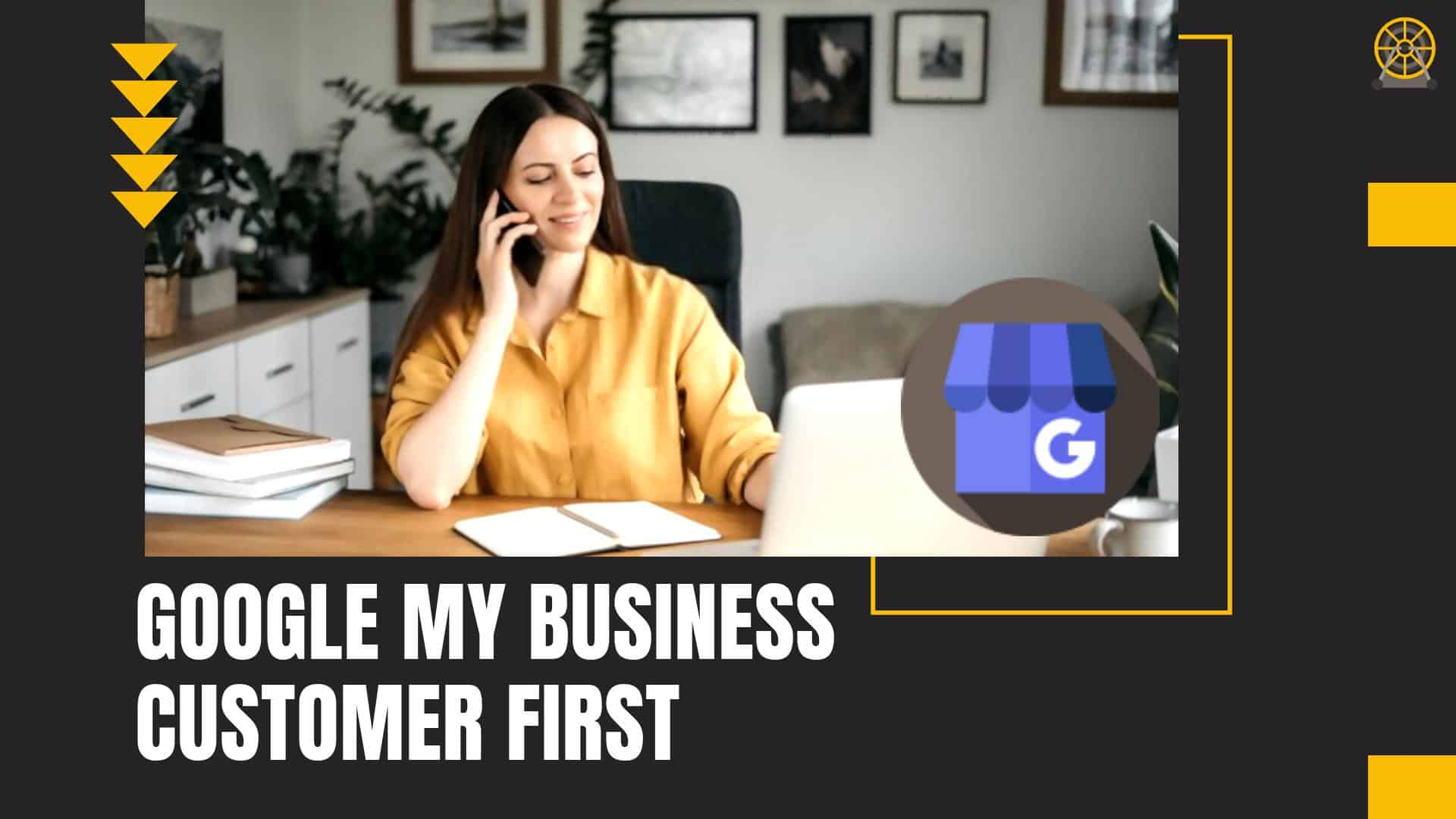 Google My Business Customer First Rooter Marketing