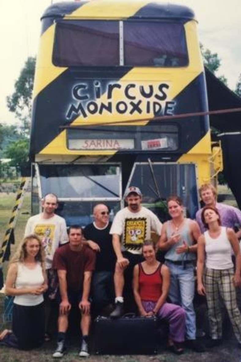 The original Circus Monoxide team