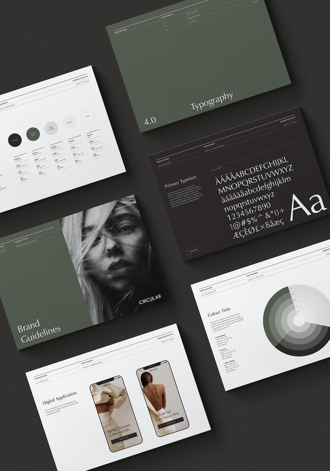 Odessa Brand Style Guide Template