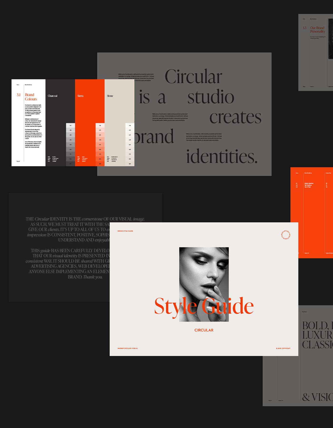 Sierra Brand Style Guide Template
