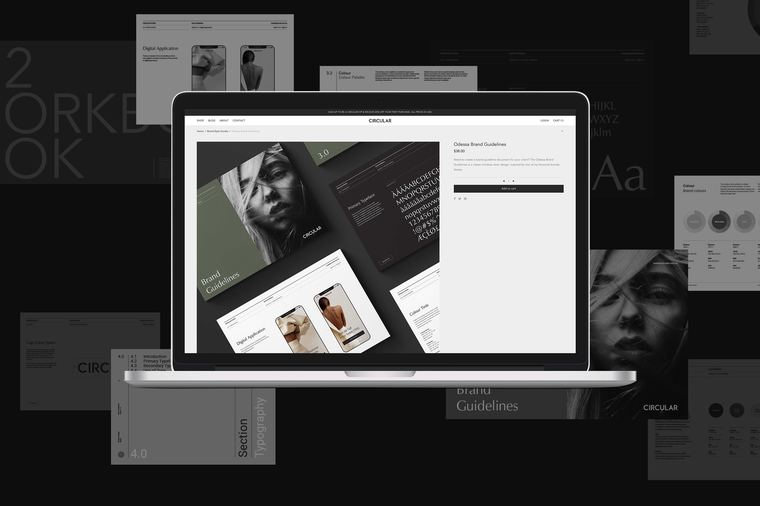 Made by Circular Web design and development project.
