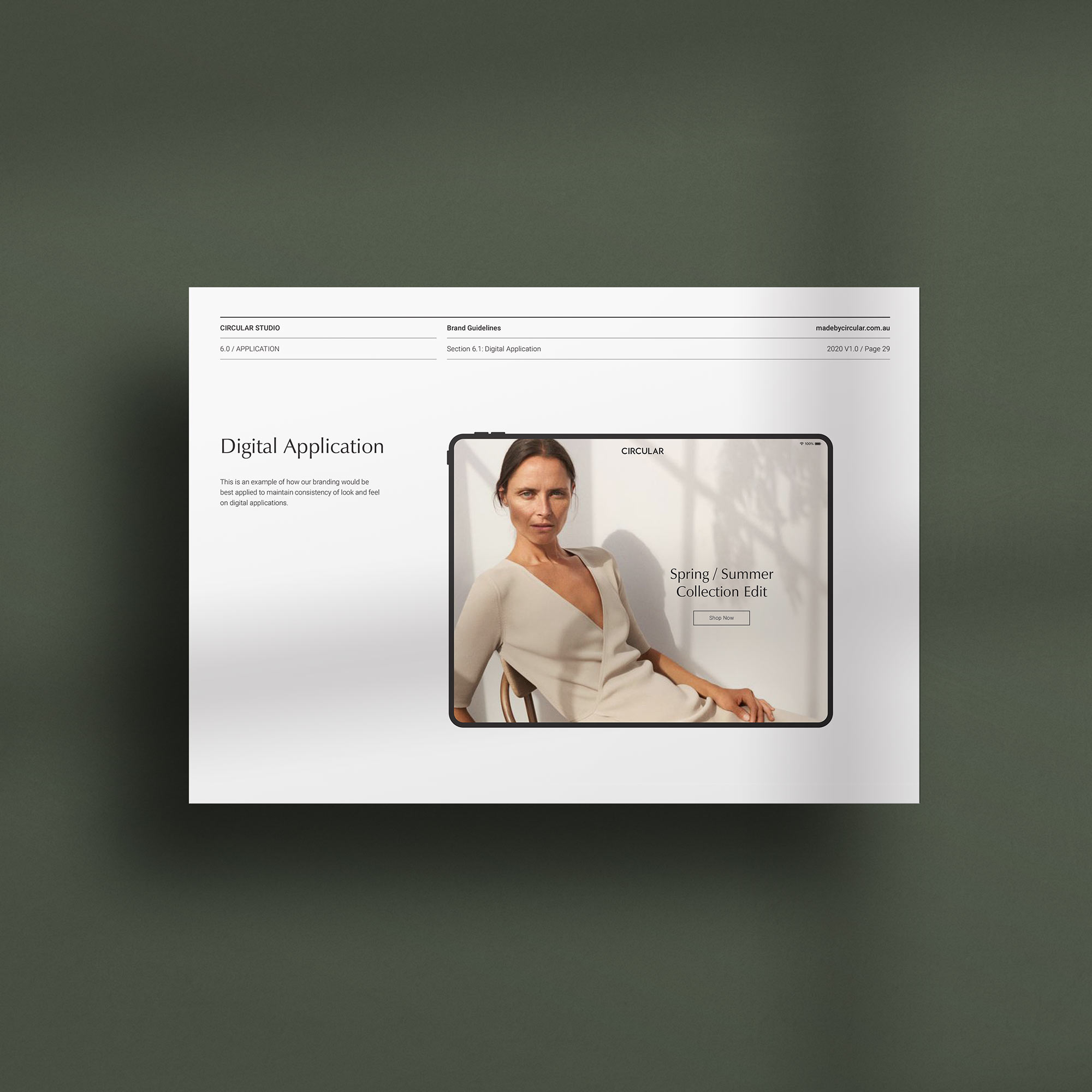 Odessa Band Guidelines Adobe InDesign Template