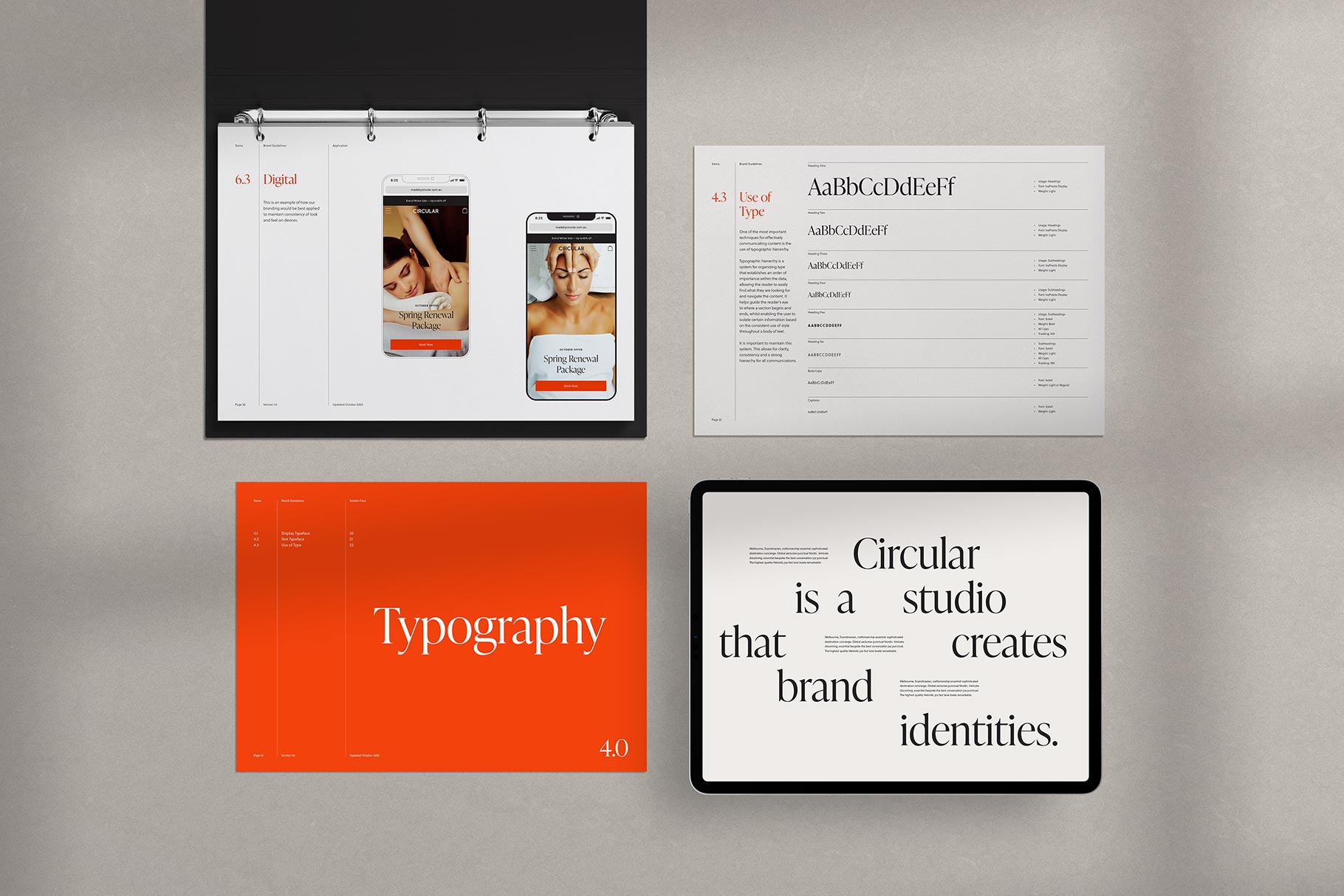 Sierra Adobe InDesign Template Band Style Guide