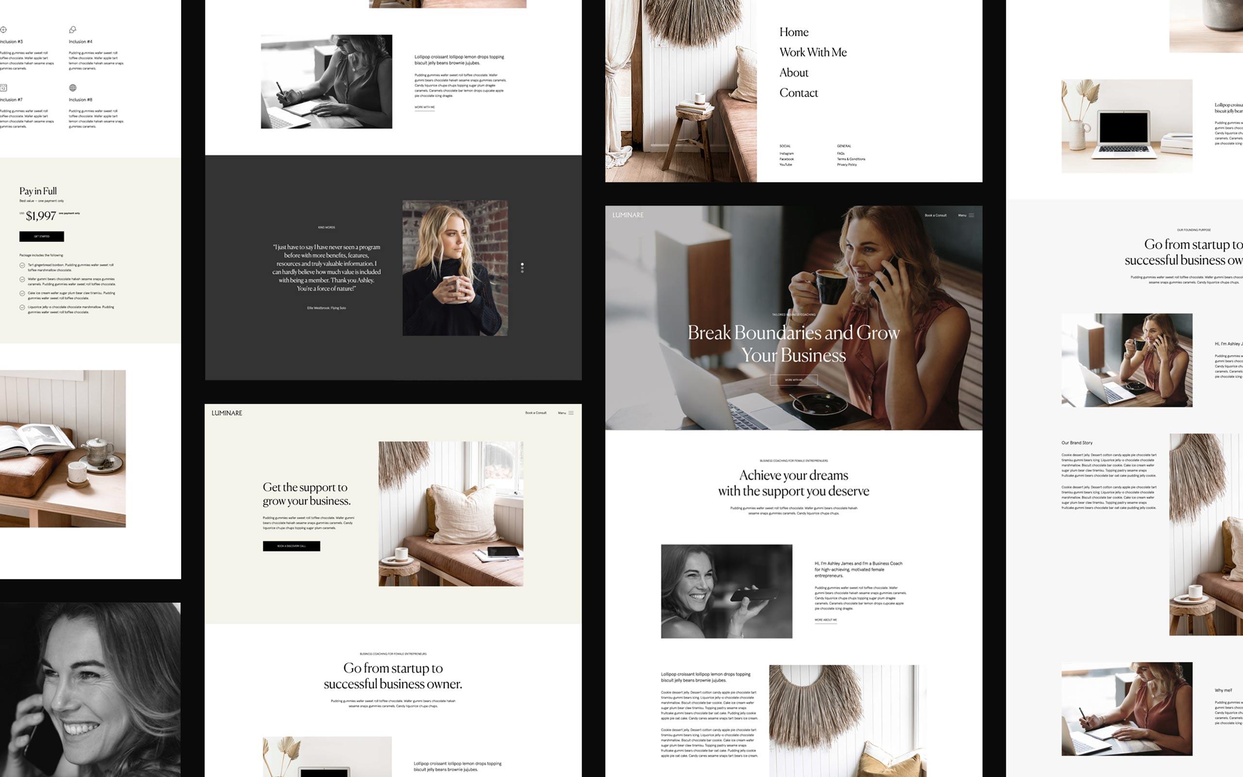 Circular Digital custom web design