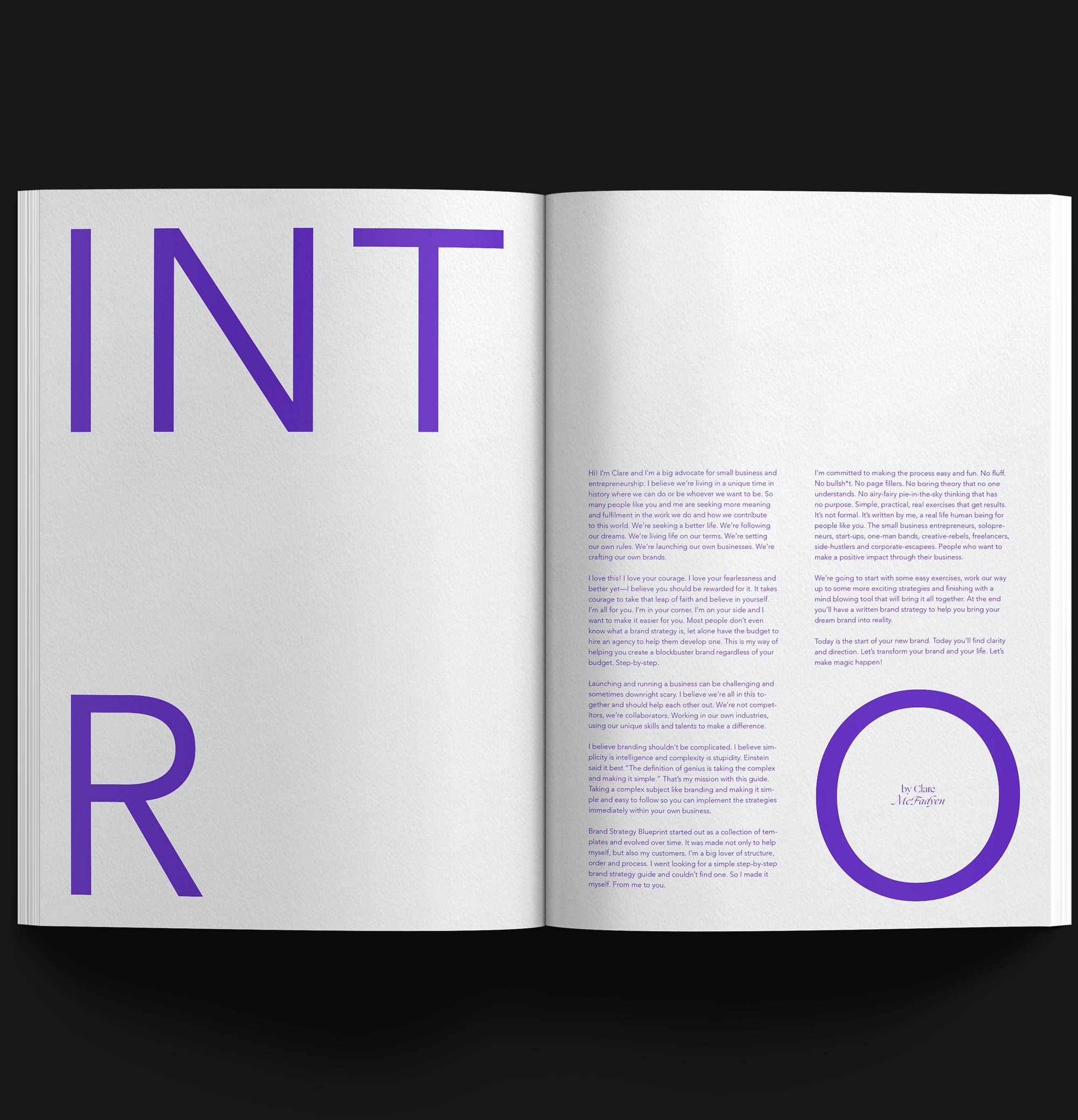 Brand Strategy Blueprint - inside