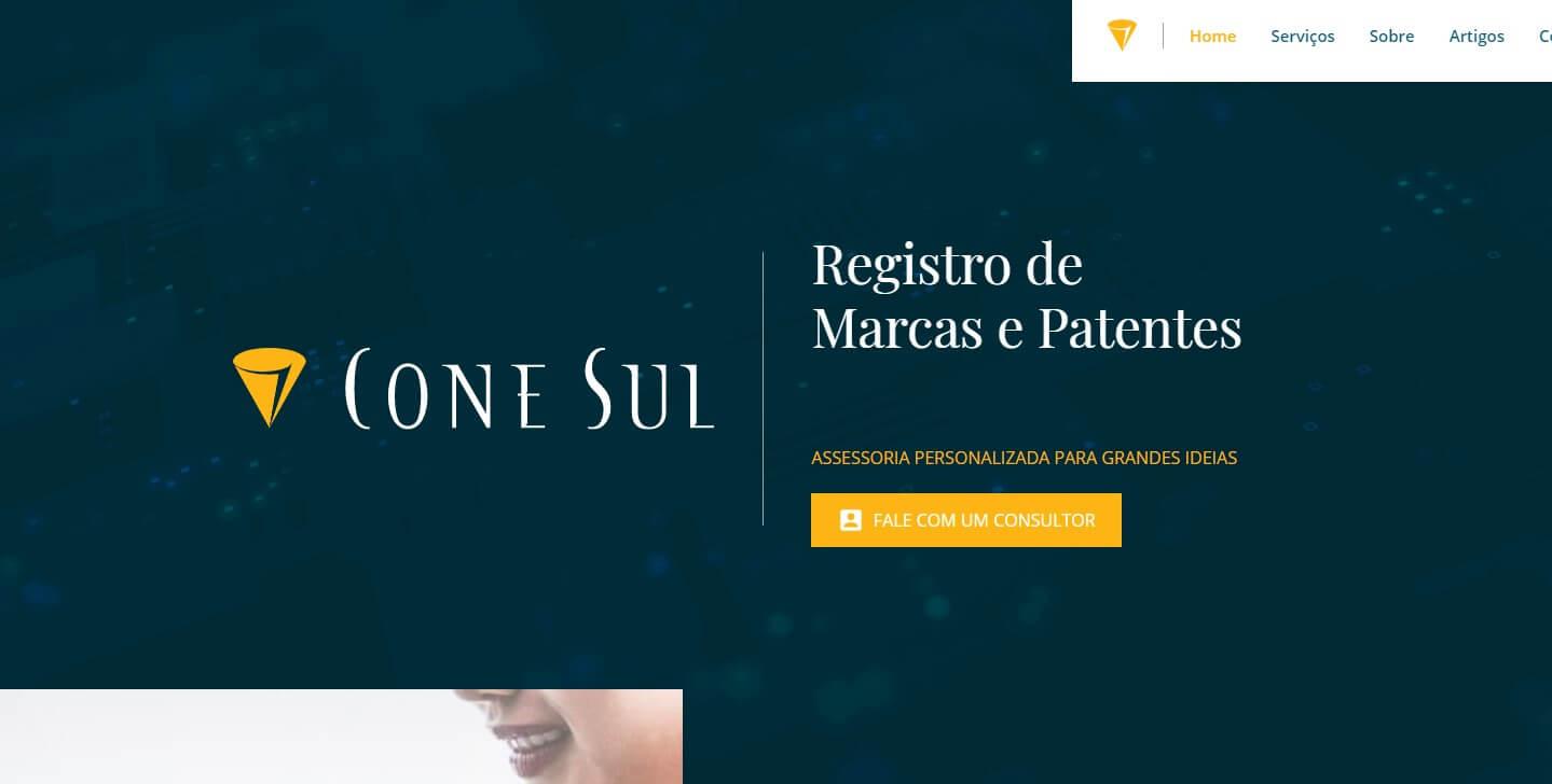 Site Cone Sul