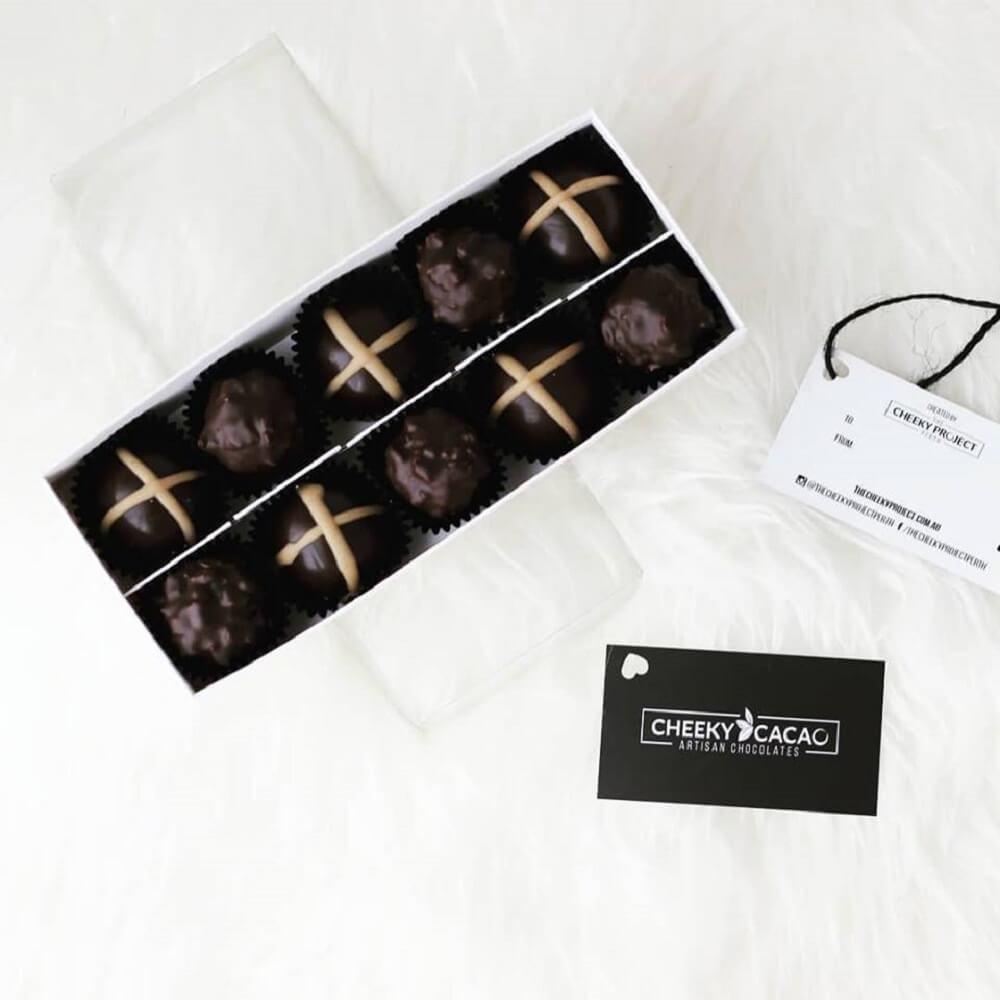 Cheeky cacao chocolate