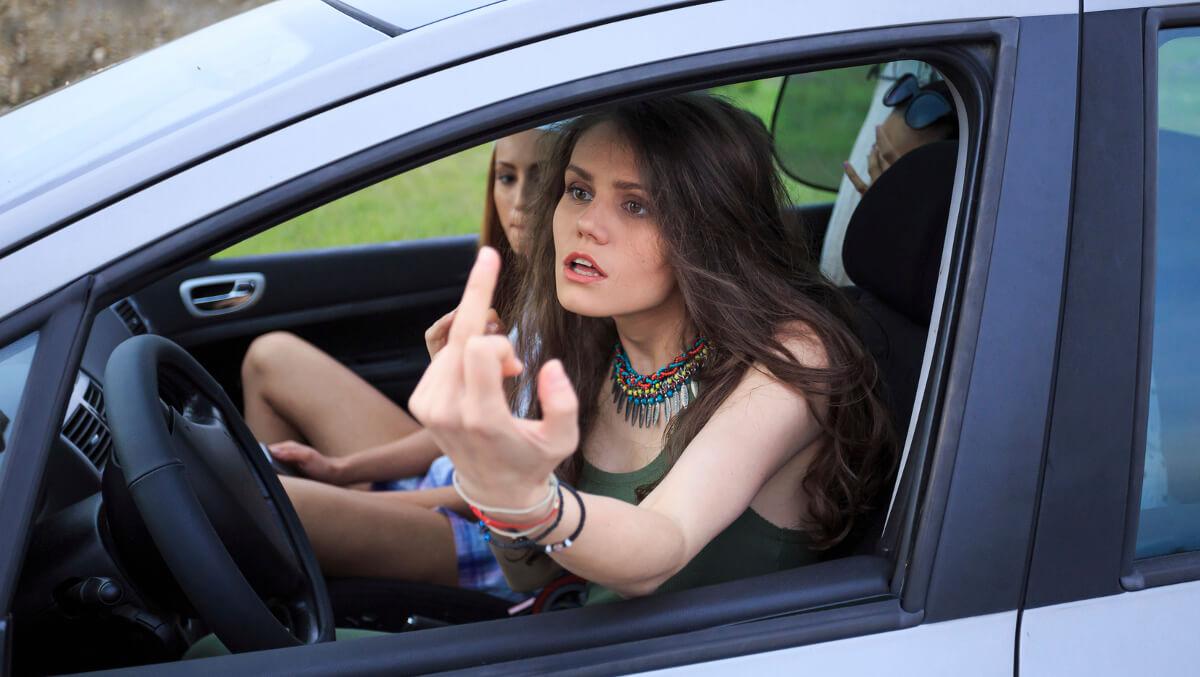 Road rage Perth