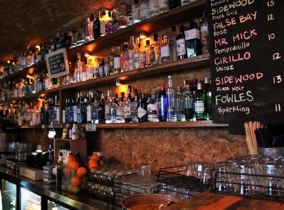 Frisk gin bar Perth