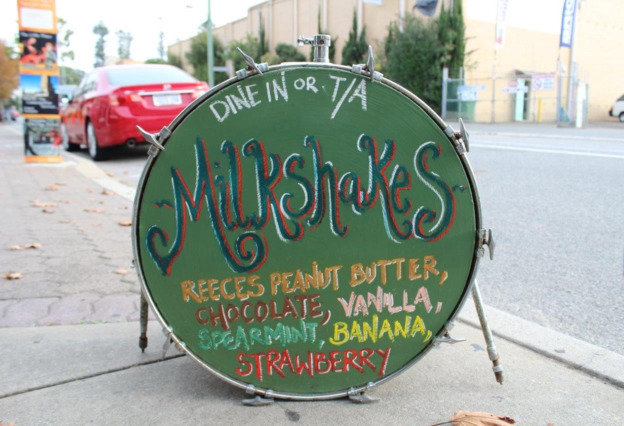 Run Amuk milkshakes