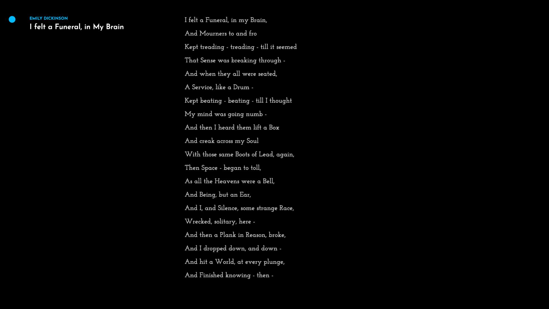 The Poet II