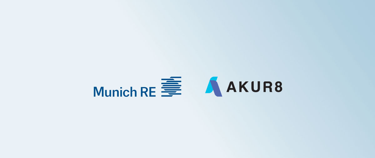 Munich Re's consulting unit boosts its pricing capabilities with Akur8 in global cooperation