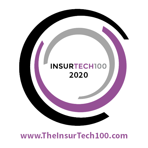 Award logo: Insurtech100 2021