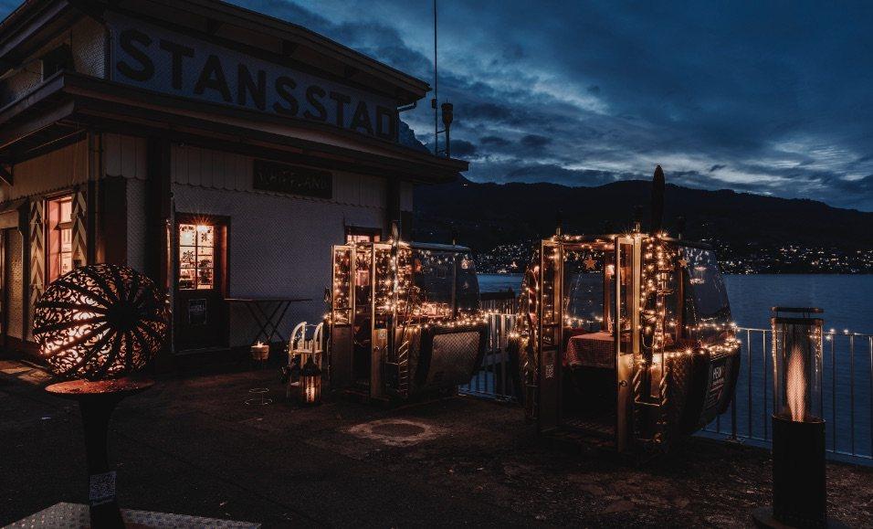 Bild der Website des Restaurants Fonduegondeln Stansstad