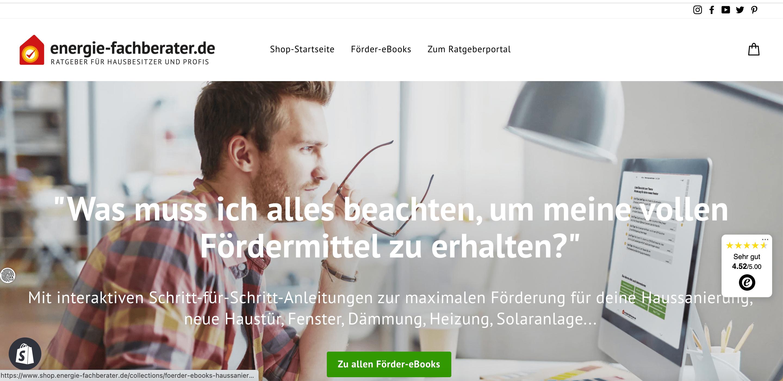 onlineshop eröffnen