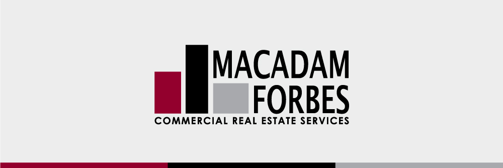 Macadam Forbes logo and colors