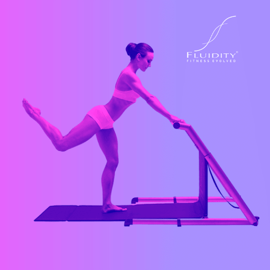 4th Position Movement on Fluidity Barre
