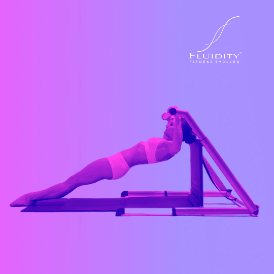 Pull Up Movement on Fluidity Barre