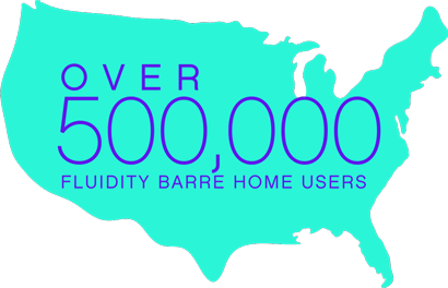 Shape of the United States with 500,000 users