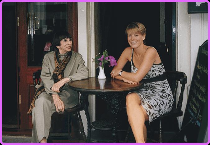 Lotte Berk and Michelle Austin