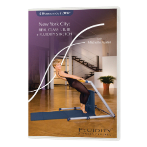 Fluidity Barre Class DVD 4 in 1 Real Class