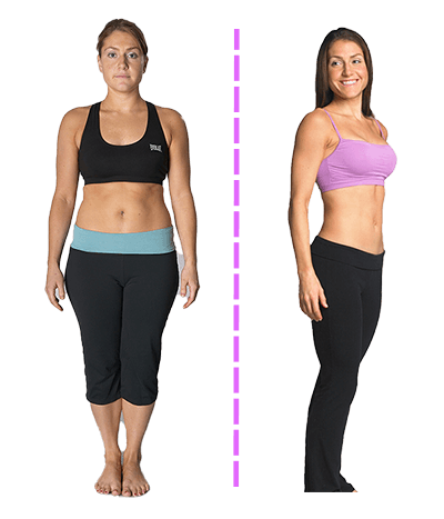 Erikka before and after results