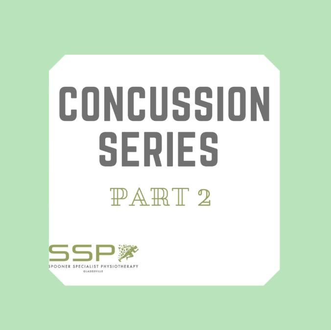 Concussion Series Part 2