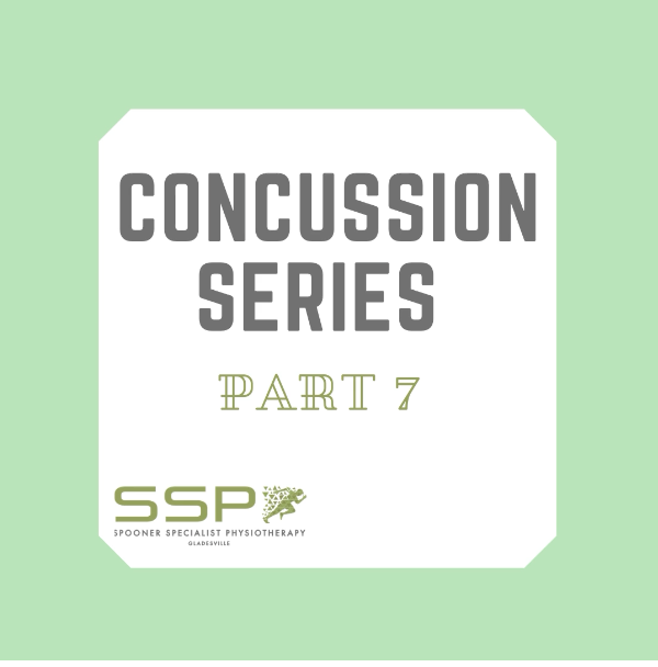 Concussion Series Part 7