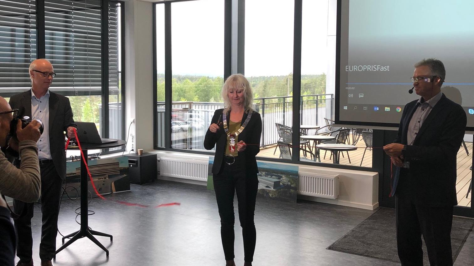 Europris åpnet sitt nye lager i Moss