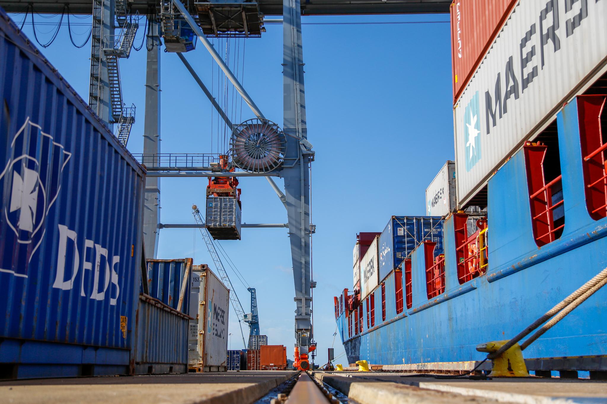Stenging av havnene gjelder ikke godstrafikken over Moss Havn