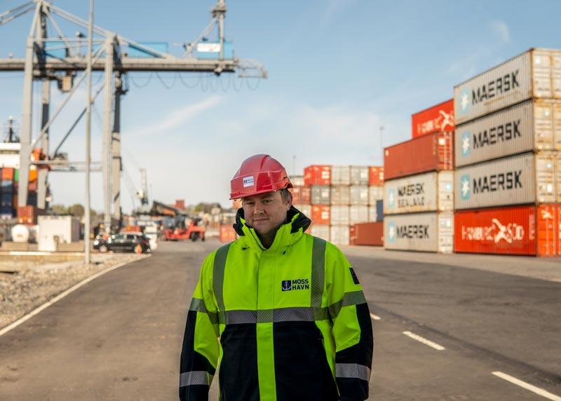 Ny medarbeider hos Moss Havn